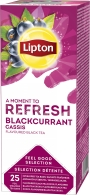 Te Liptons Black Currant 25/fp