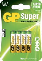 Batteri GP Ultra LR03/AAA 4/fp