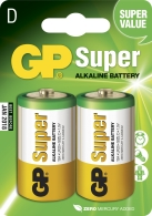 Batteri GP Ultra LR20/D 2/fp