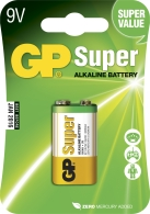 Batteri GP Ultra 6LF22/9V.