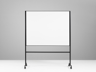 One Mobil Whiteboard svart