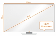 """Whiteboard Nobo Widescreen 70"""""""